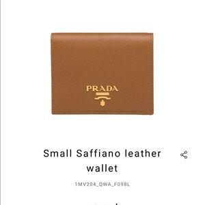 Prada Milan wallet